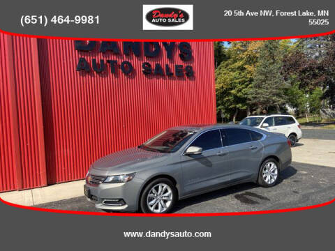 2018 Chevrolet Impala for sale at Dandy's Auto Sales in Forest Lake MN