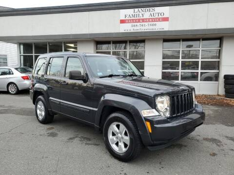 2011 Jeep Liberty for sale at Landes Family Auto Sales in Attleboro MA