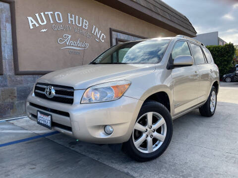 2008 Toyota RAV4 for sale at Auto Hub, Inc. in Anaheim CA