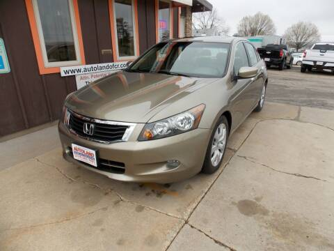 2010 Honda Accord for sale at Autoland in Cedar Rapids IA