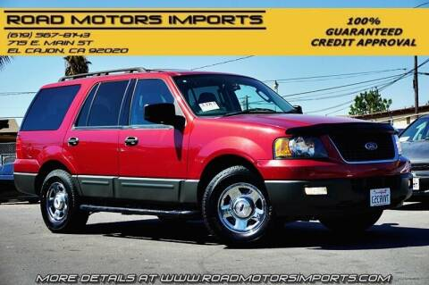 2005 Ford Expedition for sale at Road Motors Imports in El Cajon CA
