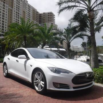 2015 Tesla Model S for sale at Choice Auto in Fort Lauderdale FL