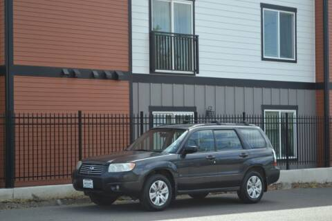 2008 Subaru Forester for sale at Skyline Motors Auto Sales in Tacoma WA