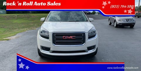 2014 GMC Acadia for sale at Rock 'n Roll Auto Sales in West Columbia SC