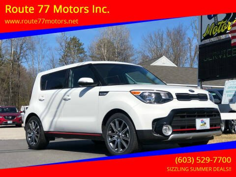 2018 Kia Soul for sale at Route 77 Motors Inc. in Weare NH