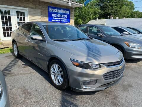 2018 Chevrolet Malibu for sale at Brucken Motors in Evansville IN