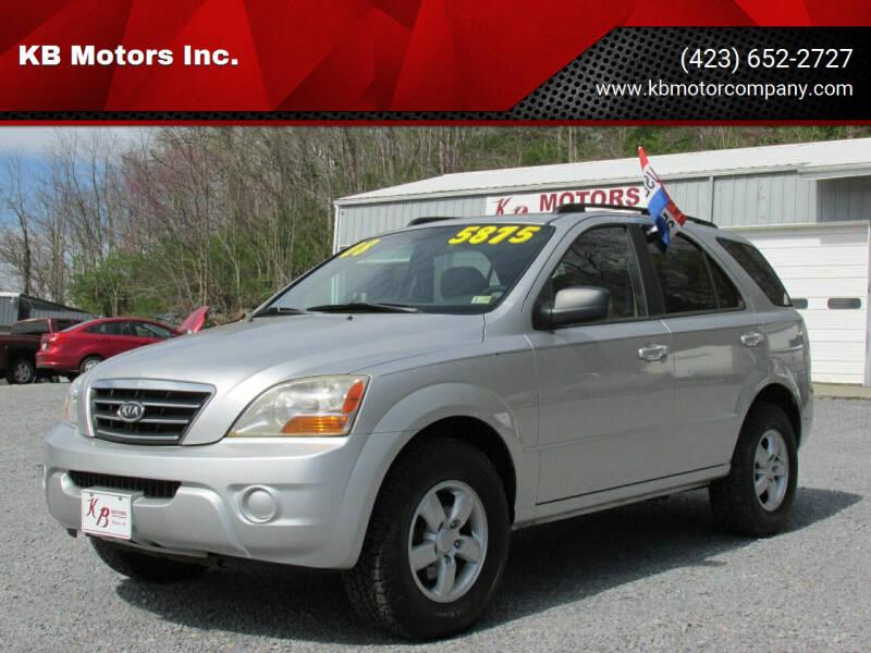 2008 Kia Sorento for sale at KB Motors Inc. in Bristol VA