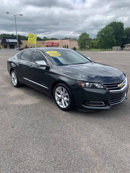2015 Chevrolet Impala for sale at CarsPlus in Scottsboro AL