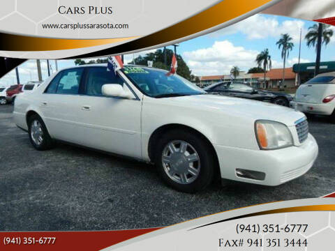 2004 Cadillac DeVille for sale at Cars Plus in Sarasota FL