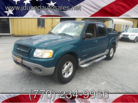 2001 Ford Explorer Sport Trac for sale at J D USED AUTO SALES INC in Doraville GA