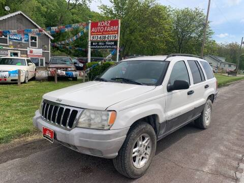 2003 Jeep Grand Cherokee for sale at Korz Auto Farm in Kansas City KS