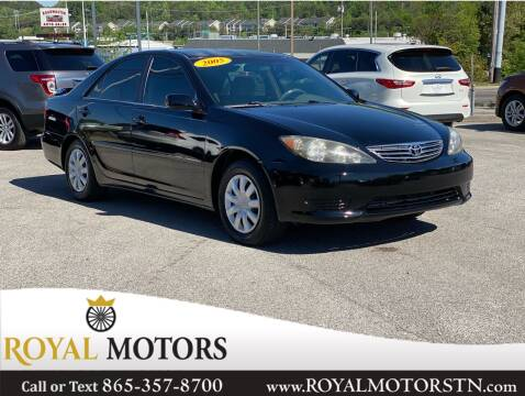 2005 Toyota Camry for sale at ROYAL MOTORS LLC in Knoxville TN