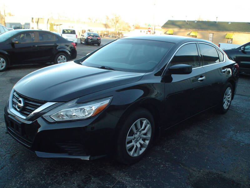 2016 Nissan Altima for sale at World of Wheels Autoplex in Hays KS