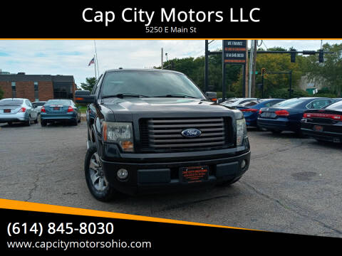 2010 Ford F-150 for sale at Cap City Motors LLC in Columbus OH