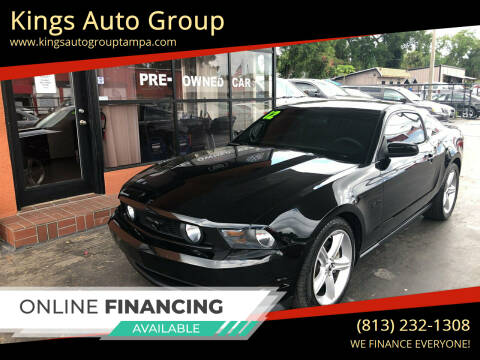 2012 Ford Mustang for sale at Kings Auto Group in Tampa FL