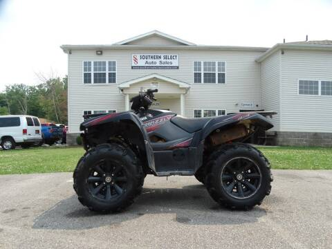 2019 Yamaha Grizzly for sale at SOUTHERN SELECT AUTO SALES in Medina OH
