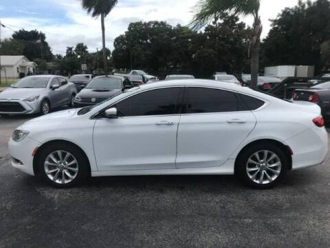 2015 Chrysler 200 for sale at Denny's Auto Sales in Fort Myers FL