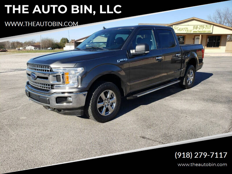 2018 Ford F-150 for sale at THE AUTO BIN, LLC in Broken Arrow OK