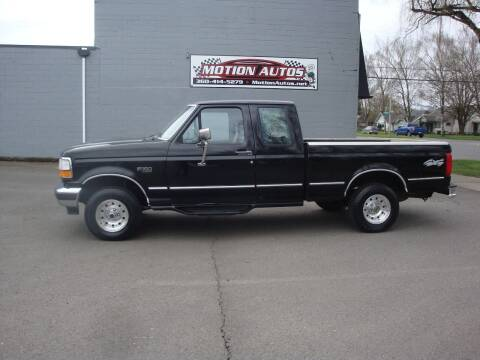1995 Ford F-150 for sale at Motion Autos in Longview WA