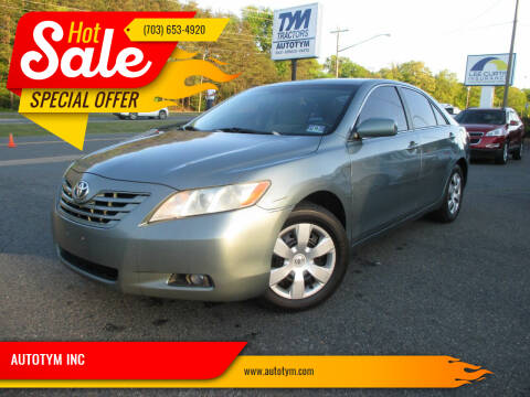 2008 Toyota Camry for sale at AUTOTYM INC in Fredericksburg VA