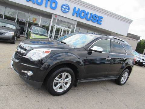 2011 Chevrolet Equinox for sale at Auto House Motors in Downers Grove IL