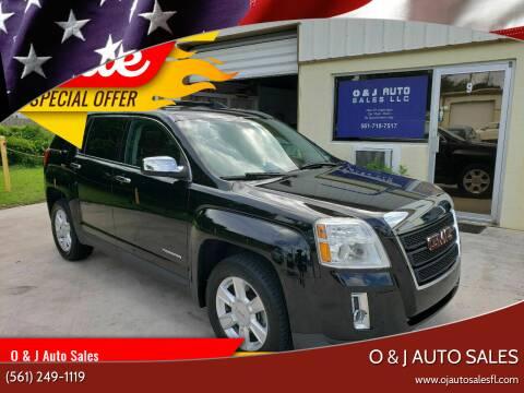2013 GMC Terrain for sale at O & J Auto Sales in Royal Palm Beach FL