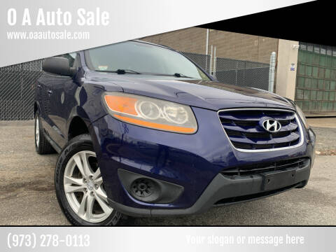 2010 Hyundai Santa Fe for sale at O A Auto Sale in Paterson NJ