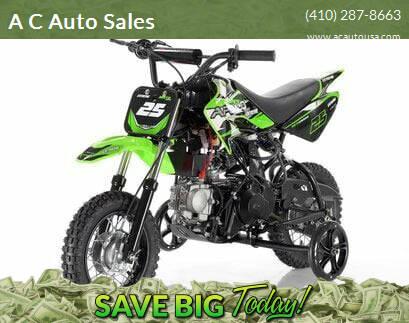 2021 Apollo 0105 DB-25 70cc FULLY Automatic for sale at A C Auto Sales in Elkton MD