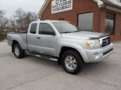 2005 Toyota Tacoma for sale at C & C MOTORS in Chattanooga TN