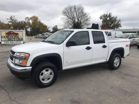 2006 Chevrolet Colorado for sale at Cordova Motors in Lawrence KS