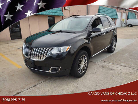 2013 Lincoln MKX for sale at Cargo Vans of Chicago LLC in Mokena IL