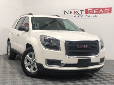 2013 GMC Acadia for sale at Next Gear Auto Sales in Westfield IN