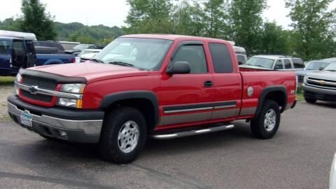 2003 Chevrolet Silverado 1500 for sale at North Star Auto Mall in Isanti MN