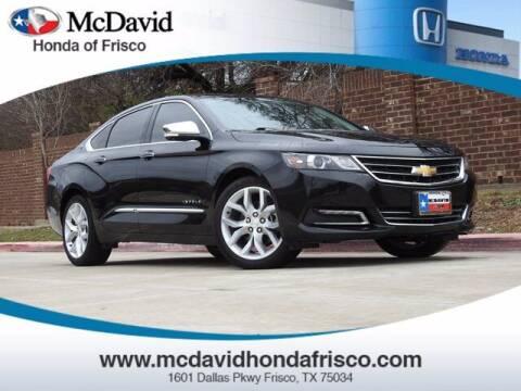 2018 Chevrolet Impala for sale at DAVID McDAVID HONDA OF IRVING in Irving TX
