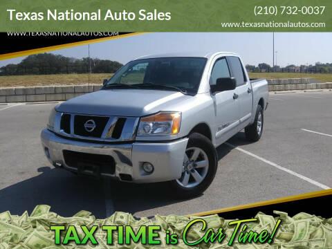 2011 Nissan Titan for sale at Texas National Auto Sales in San Antonio TX