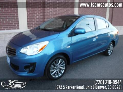 2018 Mitsubishi Mirage G4 for sale at SAM'S AUTOMOTIVE in Denver CO