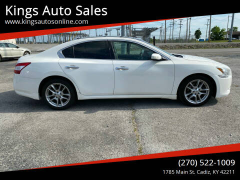 2011 Nissan Maxima for sale at Kings Auto Sales in Cadiz KY