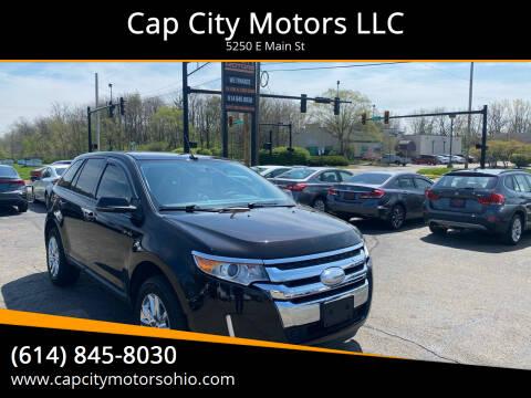 2013 Ford Edge for sale at Cap City Motors LLC in Columbus OH