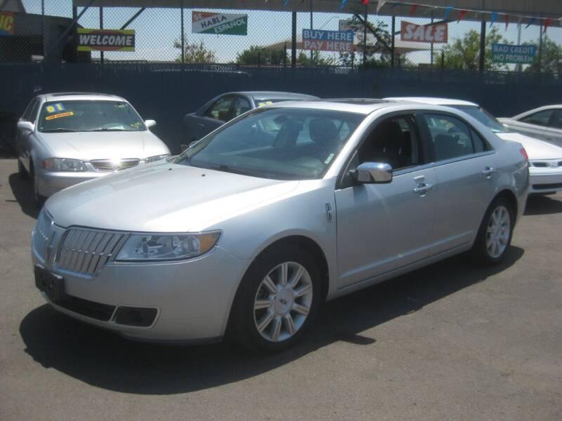 2010 Lincoln MKZ for sale at Town and Country Motors - 1702 East Van Buren Street in Phoenix AZ
