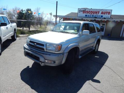 1999 Toyota 4Runner for sale at Dave's discount auto sales Inc in Clearfield UT