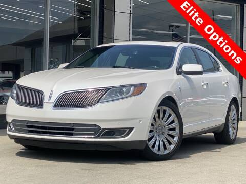 2013 Lincoln MKS for sale at Carmel Motors in Indianapolis IN