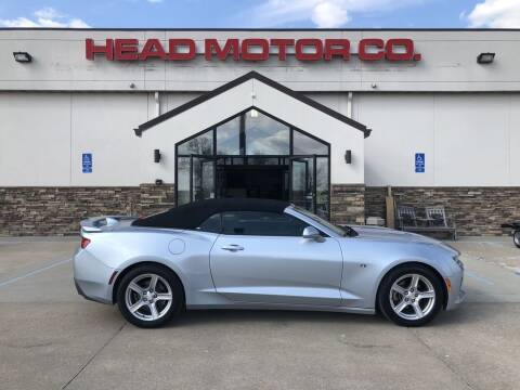 2018 Chevrolet Camaro for sale at Head Motor Company - Head Indian Motorcycle in Columbia MO