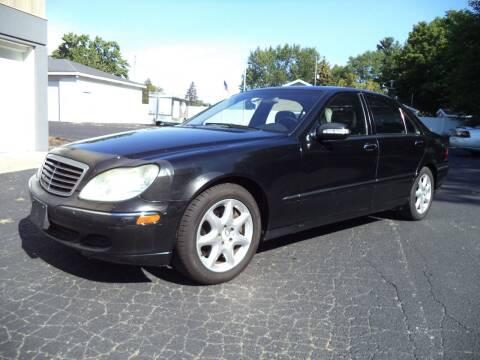 2003 Mercedes-Benz S-Class for sale at Niewiek Auto Sales in Grand Rapids MI