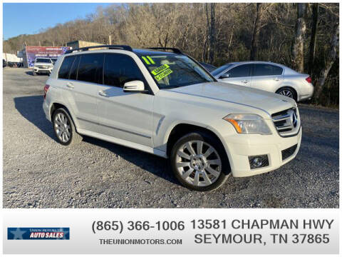 2011 Mercedes-Benz GLK for sale at Union Motors in Seymour TN