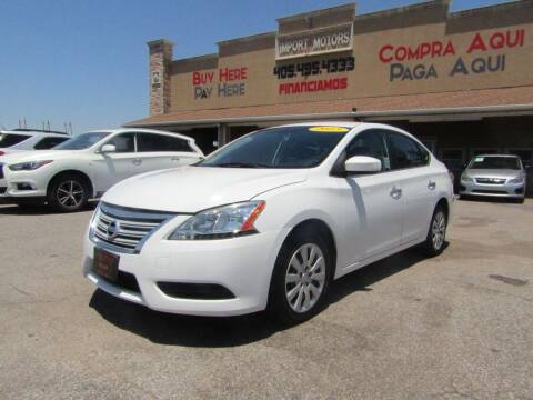 2013 Nissan Sentra for sale at Import Motors in Bethany OK
