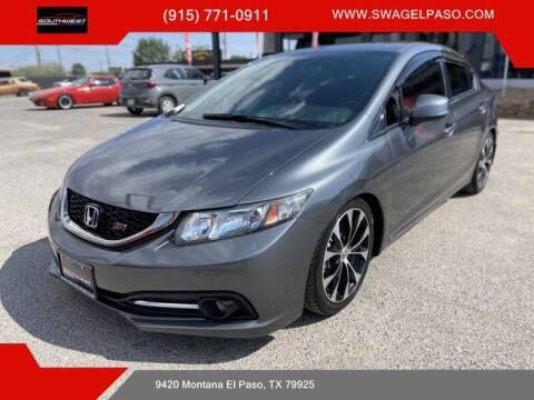 2013 Honda Civic for sale at SOUTHWEST AUTO GROUP-EL PASO in El Paso TX