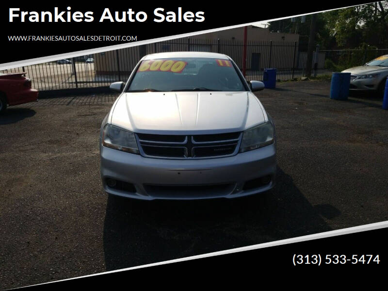 2011 Dodge Avenger for sale at Frankies Auto Sales in Detroit MI