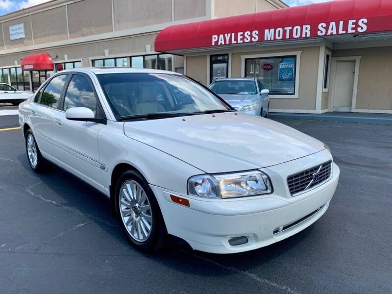 2006 Volvo S80 for sale at Payless Motor Sales LLC in Burlington NC