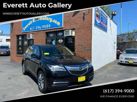 2015 Acura MDX for sale at Everett Auto Gallery in Everett MA