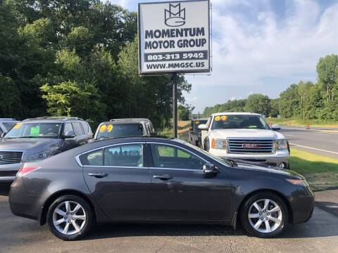 2012 Acura TL for sale at Momentum Motor Group in Lancaster SC